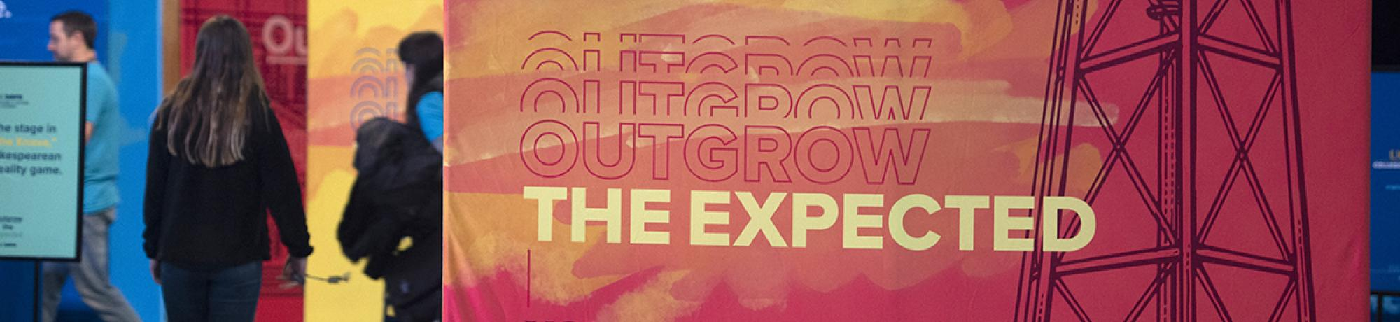 Outgrow the expected sign